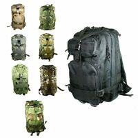 30L 3P Outdoor Military Trekking Rucksacks Tactical Backpack Camping Hiking