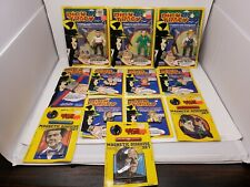 Vintage Dick Tracy Toy Lot 1990 Playmates Lot of 12 Piece Figures Magnet Watch