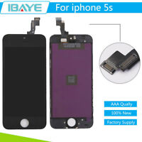 For iPhone 5S Black LCD Screen Digitizer Display Touch Assembly Replacement