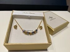 Andre Piasso Necklace Earring Jewellery Set NEW Boxed Bargain Gift RRP £20+