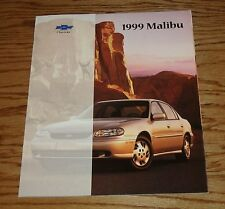 Original 1999 Chevrolet Malibu Sales Brochure 99 Chevy