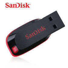 SanDisk 64GB Cruzer Blade USB Flash Pen Drive Memory Stick New UK