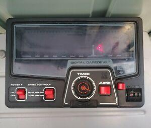 TOMY Digital Daredevil Electronic Handheld Tabletop Arcade Game WORKING - READ!!