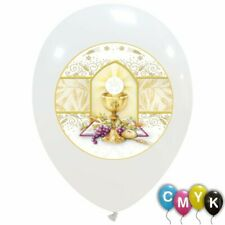 20 PALLONCINI PRIMA COMUNIONE ORO 30 CM  Made in Italy NEW 21