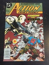 Action Comics Weekly#604 Awesome Condition 8.0(1988) Wilddog, Deadman, Superman