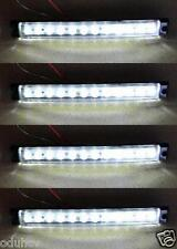 4x 24V Bianco Indicatore Laterale 12 SMD led Luci CAMION RIMORCHIO per DAF