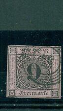 Baden, Wertziffer, Nr.4 b gestempelt, Nr. 57