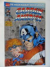 Captain America - Wiedergeburt der Helden Nr. 8 - Marvel - Zustand 1-2