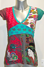 bonita túnica barriolee algodón DESIGUAL talla S EXCELENTE ESTADO