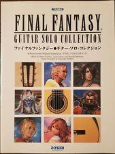 Final Fantasy Guitar Solo Collection Tab Book