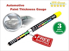 Paint Thickness Tester Meter Gauge Water Resistant Car Body Damage Detector New