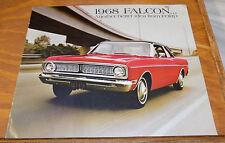 1968 Vehicle Brochure /// FORD FALCON Automobile