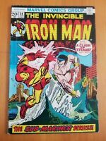 Iron Man #54, FN 6.0, 1st Appearance Moondragon; Namor