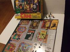 The Simpsons Clue Board Game 2nd Edition 2002 Parker Bros COMPLETE