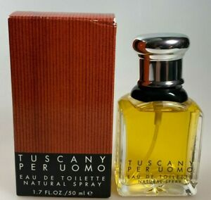 Tuscany per Uomo by Aramis Eau de Toilette Spray 50ml Vintage