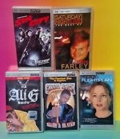 5 UMD Movies Sony PSP Playstation Portable Sin City Ali G SNL Farley Flight Plan