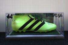 Fußballschuh, Michy Batshuayi signiert, inkl. Beleuchtung, BVB, 46