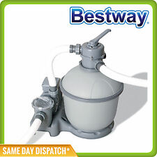 1500 gph Bestway Flowclear Sand Filter Pump 58404 For Above Ground Pools