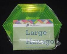 Matildas Own Hexagon Template Large Set of 6