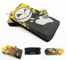The Nightmare before Christmas Wallet Jack Skellington Cartoon Fold Purse Bags