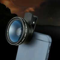 3 in1 Universal Fish Eye Wide Angle Macro Camera Lens Cell Phone Photography