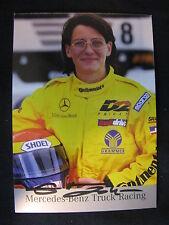 Card Ellen Lohr (GER) Mercedes Euro FIA Truck Cup 1998 (MBC)