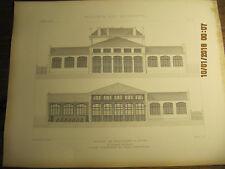 Planche Ecoles de Boulogne - S - Seine 1873