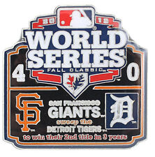 2012 World Series Commemorative Pin - Giants vs. Tigers - Limited 1,000