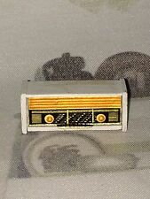 Lundby of Sweden Radio Vintage 70´s White wooden Radio! In very good shape.