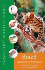 Brazil: Amazon And Pantanal (Travellers' Wildlife Guides) by Pearson, Research