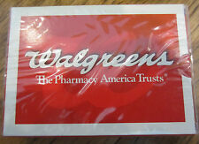 Deck Of Playing Cards Sealed Nip New Walgreens Pharmacy America Trusts