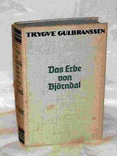Das Erbe von Björndal, Roman von T. Gulbrabssen, 1936