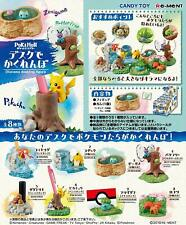 Re-Ment Pokemon Diorama Bureau Figurine Miniature Pikachu Complet Boite