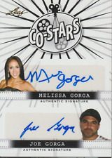 Melissa Joe Gorga 2014 Leaf Co-Stars dual autograph auto card CS-1
