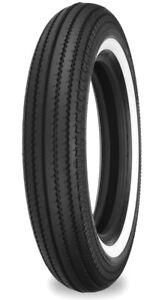 Shinko 87-4632 Tire 270 Super Classic Front or Rear Tire 4.50-18 70H Whitewall
