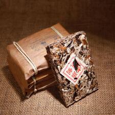 250g Yunnan Old Raw Puerh Bud Tea Brick Qianjiazhai Original Green Food Slimming