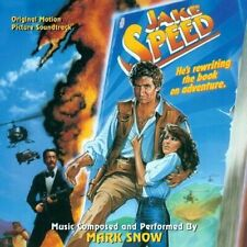 JAKE SPEED CD Mark Snow SOLD OUT SOUNDTRACK