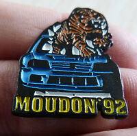 RARE PIN'S VOITURE PEUGEOT 205 GTI TIGRE MOUDON 92