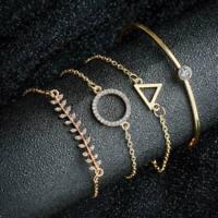 Charm Women Stainless Steel Lots Style Cuff Open Bracelet Bangle Chain Wristband