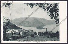LECCO PERLEDO 11 Fr. BOLOGNA - BELLAGIO - COLLEGIO S. CARLO Cartolina viagg 1954