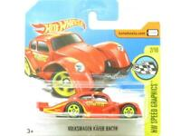 Hotwheels Volkswagen Kafer Racer Red 56/365 Short Card 1 64 Scale Sealed New