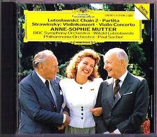 Anne-Sophie MUTTER: LUTOSLAWSKI Chain Partita STRAVINSKY Violin Concerto SACHER