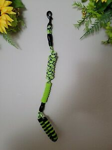 tobeDRI Heavy Duty Dog Leash , 6 feet Long Green with cover for bags