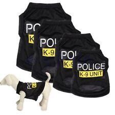 Perro Abrigo Chaqueta Chaleco Ropa de policía Cachorro Perro Camisa BC
