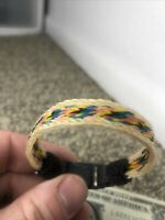 Handmade Hitched Horse Hair Bracelet Made In Montana State Prison