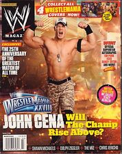 WWE Magazine March 2012 John Cena, Cover #3/4 VG 072516DBE