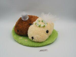 "Capybara-san MB2307 KAPIBARA-SAN Couple Wedding Tryworks PLush 7"" Toy Doll"