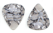 Cheap Trick Rick Nielsen Signature Light Gray Pearl Guitar Pick - 2006 Tour
