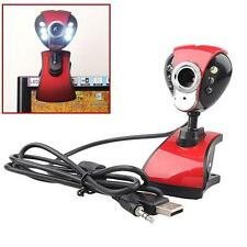 USB 50 Mega 6 LED HD Webcam Camera Web Cam with MIC for Computer PC Laptop A  MT