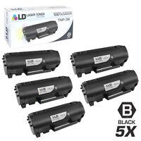 LD Compatible Konica- Minolta TNP-38/A63W01W 5PK Black Toners for Bizhub 4000P